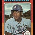 LOS ANGELES DODGERS VON JOSHUA 1975 TOPPS # 547 VG