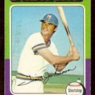 MILWAUKEE BREWERS TIM JOHNSON 1975 TOPPS # 556 VG/EX