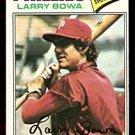PHILADELPHIA PHILLIES LARRY BOWA 1977 TOPPS # 310 VG