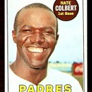SAN DIEGO PADRES NATE COLBERT 1969 TOPPS # 408 NM