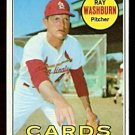 ST LOUIS CARDINALS RAY WASHBURN 1969 TOPPS # 415 NR MT