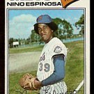 NEW YORK METS NINO ESPINOSA 1977 TOPPS # 376 VG