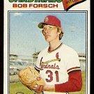 ST LOUIS CARDINALS BOB FORSCH 1977 TOPPS # 381 good