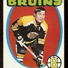 BOSTON BRUINS JOHNNY BUCYK 1971 TOPPS # 35 NR MT