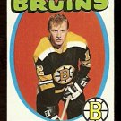 BOSTON BRUINS WAYNE CASHMAN 1971 TOPPS # 129 EM/NM