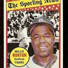 DETROIT TIGERS WILLIE HORTON ALL STAR 1969 TOPPS # 429 NR MT