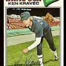CHICAGO WHITE SOX KEN KRAVEC 1977 TOPPS # 389 good
