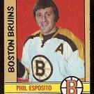BOSTON BRUINS PHIL ESPOSITO  1972 OPC # 111 EX/EM