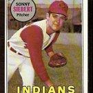 CLEVELAND INDIANS SONNY SIEBERT 1969 TOPPS # 455