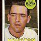 HOUSTON ASTROS CURT BLEFARY 1969 TOPPS # 458 VG