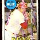 CINCINNATI REDS CHICO RUIZ 1969 TOPPS # 469 fair