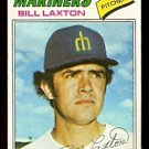 SEATTLE MARINERS BILL LAXTON 1977 TOPPS # 394 G/VG