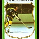 BOSTON BRUINS PHIL ESPOSITO ALL STAR 1973 TOPPS # 120 NM