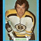BOSTON BRUINS DON MARCOTTE 1973 TOPPS # 89 NR MT