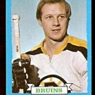 BOSTON BRUINS WAYNE CASHMAN 1973 TOPPS # 166 NR MT