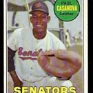 WASHINGTON SENATORS PAUL CASANOVA 1969 TOPPS # 486 fair/good