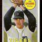 DETROIT TIGERS JOE SPARMA 1969 TOPPS # 488 EX/NM