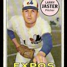 MONTREAL EXPOS LARRY JASTER TOPPS # 496 good