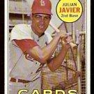 ST LOUIS CARDINALS JULIAN JAVIER 1969 TOPPS # 497 NR MT OC