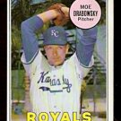 KANSAS CITY ROYALS MOE DRABOWSKY 1969 TOPPS  # 508 EM/NM