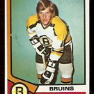 BOSTON BRUINS BOBBY ORR 1974 TOPPS # 100 NR MT