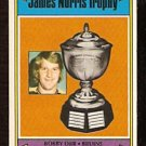 BOSTON BRUINS BOBBY ORR NORRIS TROPHY 1974 OPC # 248