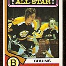 BOSTON BRUINS BOBBY ORR ALL STAR 1974 OPC # 130