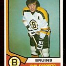 BOSTON BRUINS PHIL ESPOSITO  1974 OPC # 200
