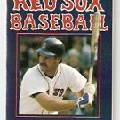 BOSTON RED SOX 1986 POCKET SCHEDULE WADE BOGGS WORLD SERIES YEAR