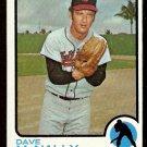 BALTIMORE ORIOLES DAVE McNALLY 1973 TOPPS # 600 EX+/EM