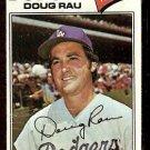 LOS ANGELES DODGERS DOUG RAU 1977 TOPPS # 421 G/VG