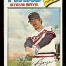 MINNESOTA TWINS STEVE BRYE 1977 TOPPS # 424 VG