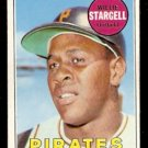 PITTSBURGH PIRATES WILLIE STARGELL 1969 TOPPS # 545 VG/EX