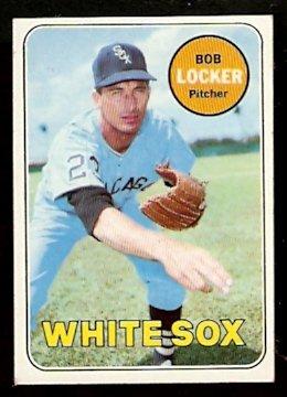 CHICAGO WHITE SOX BOB LOCKER 1969 TOPPS # 548 EX