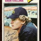 SEATTLE MARINERS DAVE COLLINS 1977 TOPPS # 431 VG