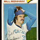 CHICAGO CUBS BILL BONHAM 1977 TOPPS # 446 EX