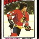 CHICAGO BLACK HAWKS BOBBY ORR 1976 TOPPS # 213