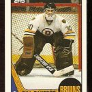BOSTON BRUINS BILL RANFORD ROOKIE CARD RC 1987 TOPPS # 13 NR MT
