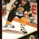 BOSTON BRUINS JOE JUNEAU 1993 LEAF # 218