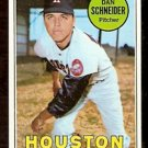 HOUSTON ASTROS DAN SCHNEIDER 1969 TOPPS # 656 NM