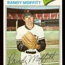 SAN FRANCISCO GIANTS RANDY MOFFITT 1977 TOPPS # 464 EX