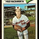 BALTIMORE ORIOLES FRED HOLDSWORTH 1977 TOPPS # 466