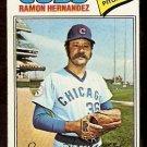 CHICAGO CUBS RAMON HERNANDEZ 1977 TOPPS # 468 VG