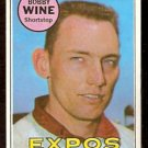 MONTREAL EXPOS BOBBY WINE 1969 TOPPS # 648