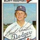 LOS ANGELES DODGERS BURT HOOTON 1977 TOPPS # 484 VG