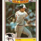 BALTIMORE ORIOLES CAL RIPKEN 1989 TOPPS GLOSSY ALL STAR # 5