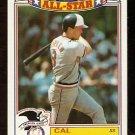 BALTIMORE ORIOLES CAL RIPKEN 1989 TOPPS GLOSSY ALL STAR # 5