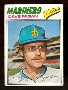 SEATTLE MARINERS DAVE PAGAN 1977 TOPPS # 508 G/VG