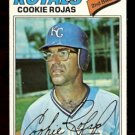 KANSAS CITY ROYALS COOKIE ROJAS 1977 TOPPS # 509 G/VG