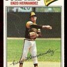 SAN DIEGO PADRES ENZO HERNANDEZ 1977 TOPPS # 522 good